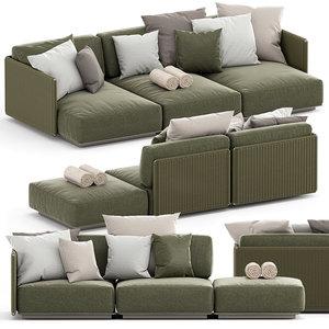 eddy outdoor sofa model