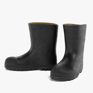 gum boots 5 3D model