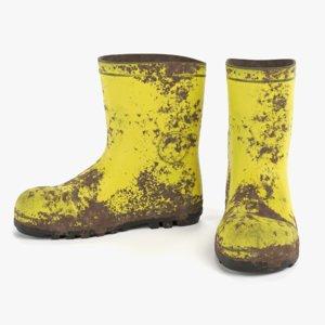 3D gum boots