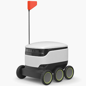 delivery robot bot model