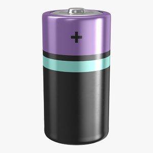 3D model battery c