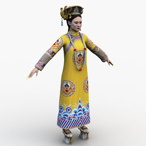 chinese empresses 0001 3D