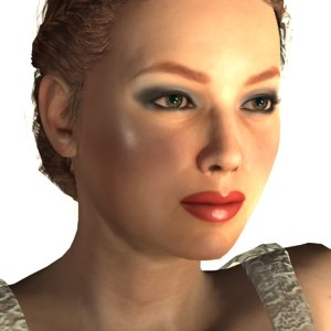 3D realistic nadia model