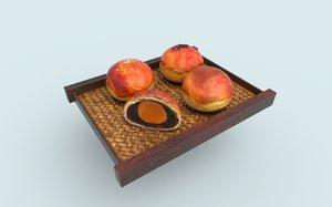asia food cake model