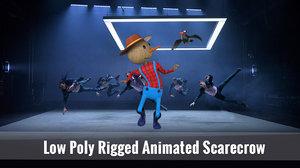 3D scarecrow ar animations