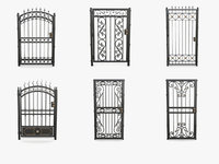 Wrought iron gates collection vol.2