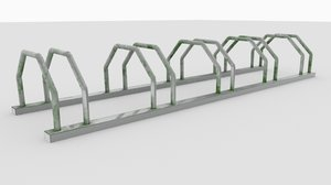 bike stand 3D model