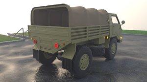 transport military truck 3D