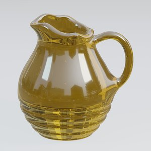 pitcher glass model