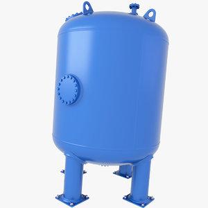 3D tank pressure oil