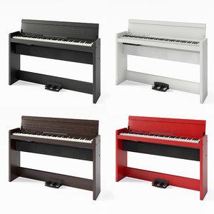 3D piano korg