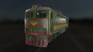 locomotive soviet 3D