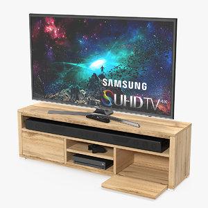 modern tv cabinet 3D