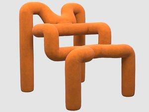 3D butaca ekstrem terje ekstrom model