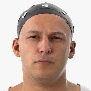 3D marcus human head inner