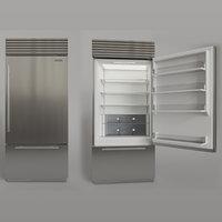 SUBZERO BI-36US Refrigerator Freezer With Interior