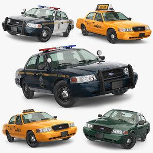 cab victoria 3D model