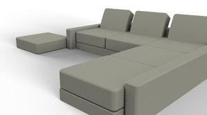 furnishing furniture 3D model