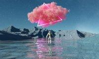 Landscape Surrealist Astronaut