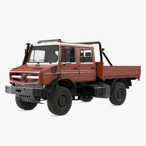 3D road cargo truck vehicle car