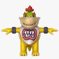 Bowser Jr - Super Mario Assets