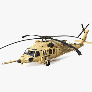 sikorsky hh60 pave hawk 3D model