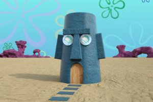 squidward s house 3D model