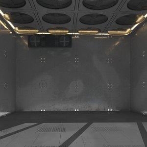sci-fi box 3D