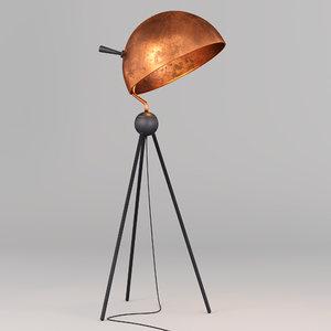 bowel floor light 3D model