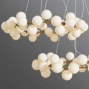 chandelier inflora 45 plafonds model