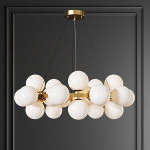 3D model dallas maytoni pendant lamp