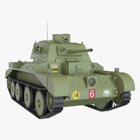 Cruiser Mark III A13 Green