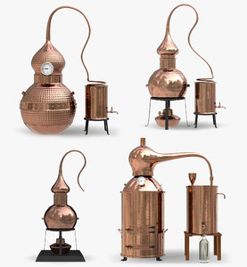 copper alembic stills 3D model