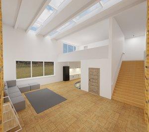 room interior model