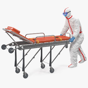 3D chemical protective suit ambulance