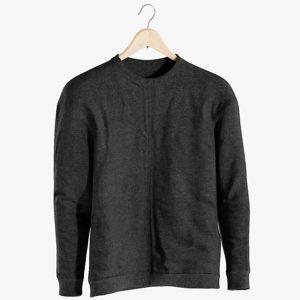 3D realistic men s sweater