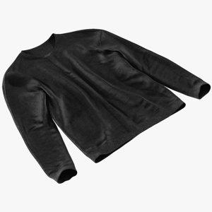 realistic men s sweater 3D