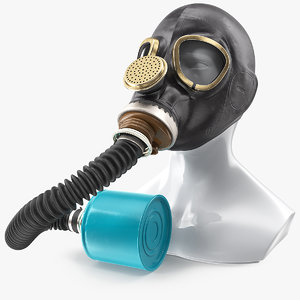 gas mask gp5 long model
