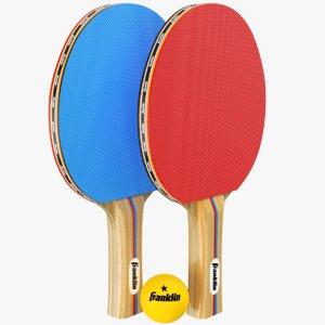 3D real paddles
