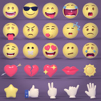 Smiley and Emoji Collection - Pack
