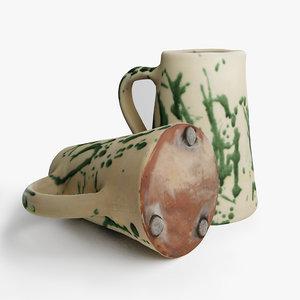 ceramic water jar 3D model