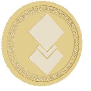 dorado gold coin 3D model
