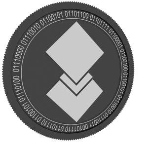 dorado black coin 3D