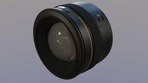 3D canon lens f1 4