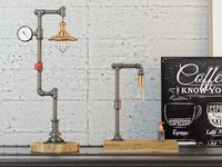 Industrial Desk Lamp D4