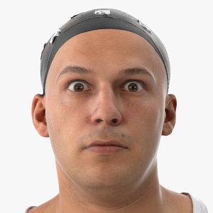 marcus human head upper 3D