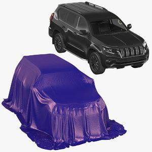 3D model suv car cover