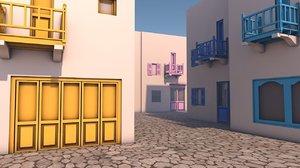 architecture house 3D