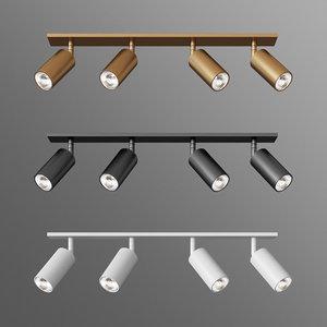 3 types indoor lights 3D model