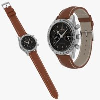 Omega Speedmaster 57 Closed Leather Bracelet Collection